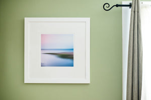 "Cate Brown Photo Rome Point Summer Abstract #1 // Framed Fine Art 20x20"" // Limited Edition 1 of 100 Available Inventory Ocean Fine Art"