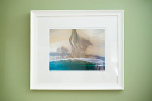 "Cate Brown Photo Bonnet Aerial #1 // Framed Fine Art 14x18"" // Limited Edition 1 of 150 Available Inventory Ocean Fine Art"
