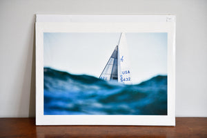 "Cate Brown Photo J24 Over the Waves // Fine Art Print 12x18"" // Limited Edition AP Available Inventory Ocean Fine Art"