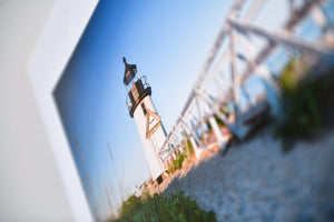 "Cate Brown Photo Brant Point Light from the Reeds // Fine Art Print 12x18"" // Open Edition Available Inventory Ocean Fine Art"
