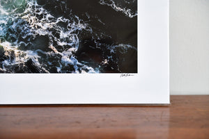 "Cate Brown Photo Beavertail Aerial #7 // Fine Art Print 12x16"" // Limited Edition 1 of 150 Available Inventory Ocean Fine Art"