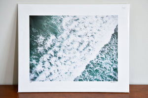 "Cate Brown Photo Scarborough Aerial #8 // Fine Art Print 12x16"" // Limited Edition 1 of 150 Available Inventory Ocean Fine Art"