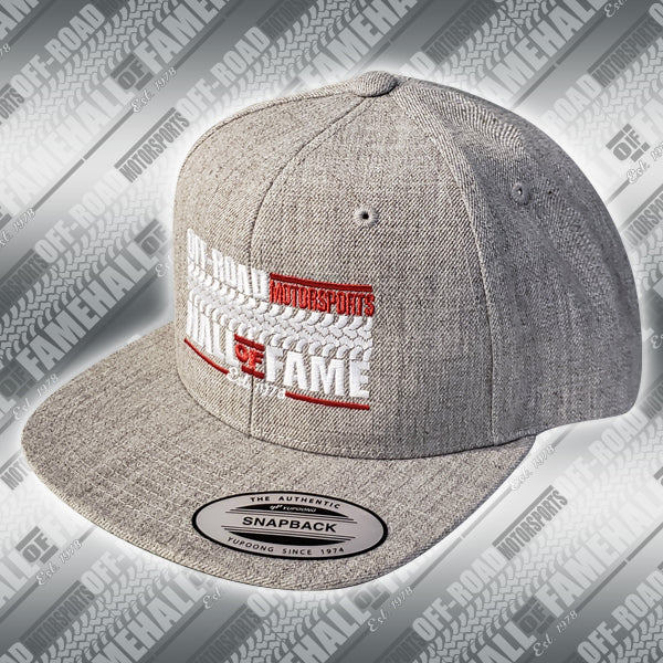 Classics Heather Gray Snapback cap
