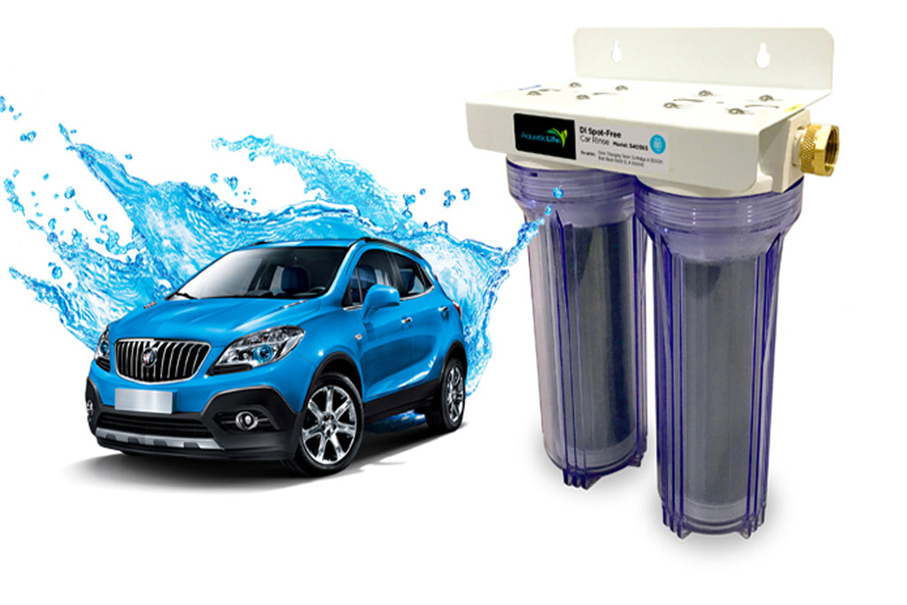 AQUATIC LIFE DEIONIZED RESIN SPOT-FREE CAR RINSE UNIT