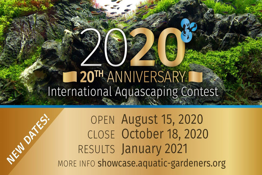 New Dates Announced for the AGA 2020 International Aquascaping Contest