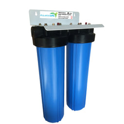Blue 2-Stage Whole House Filter Systems & Cartridges