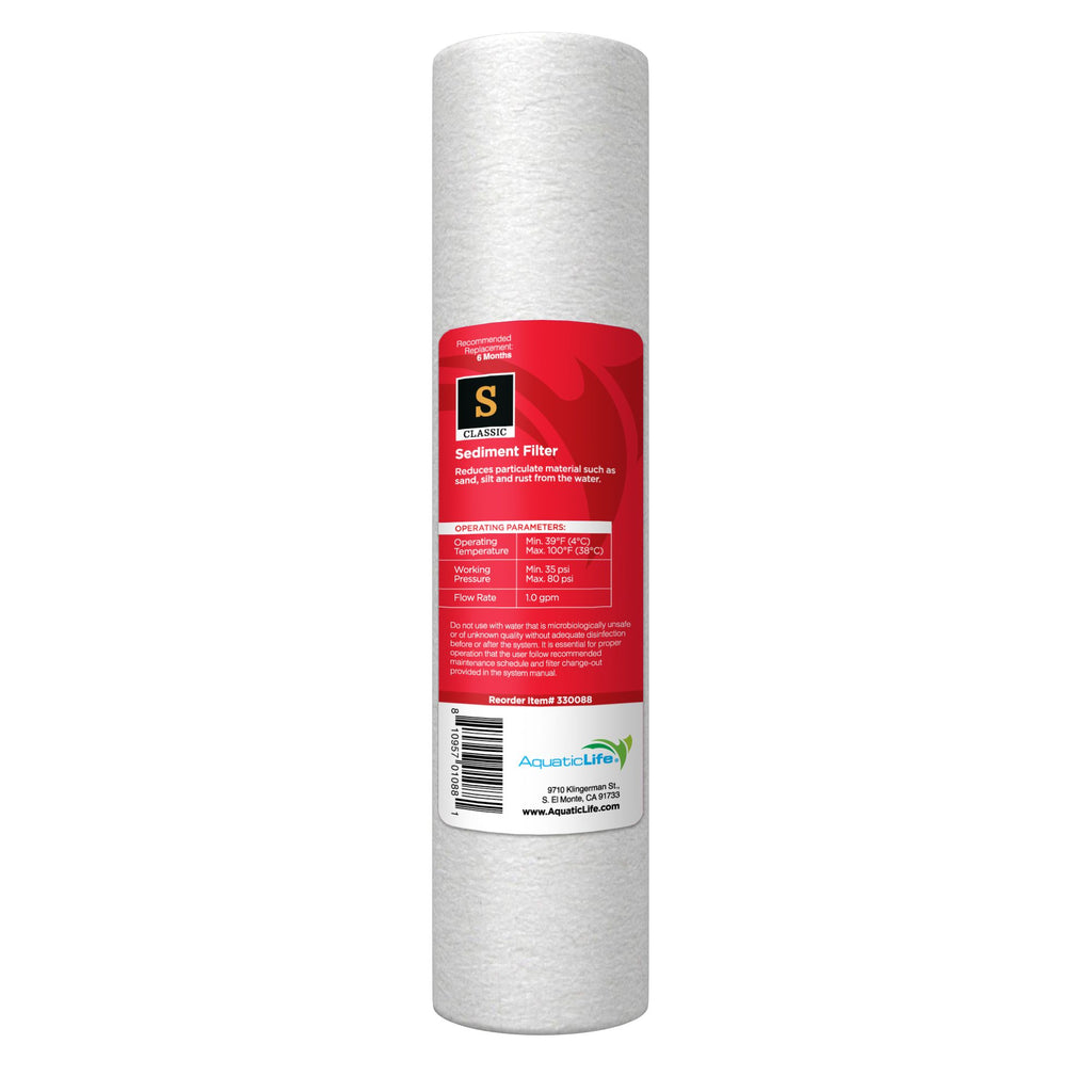 10-Inch 5-Micron Sediment Filter Cartridge