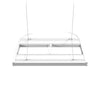 Aquatic Life G2 T5 HO Hybrid 4-Lamp Mounting System Fixture, White 24-Inch