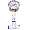 Pressure Gauge 1/4-Inch Tee Fittings