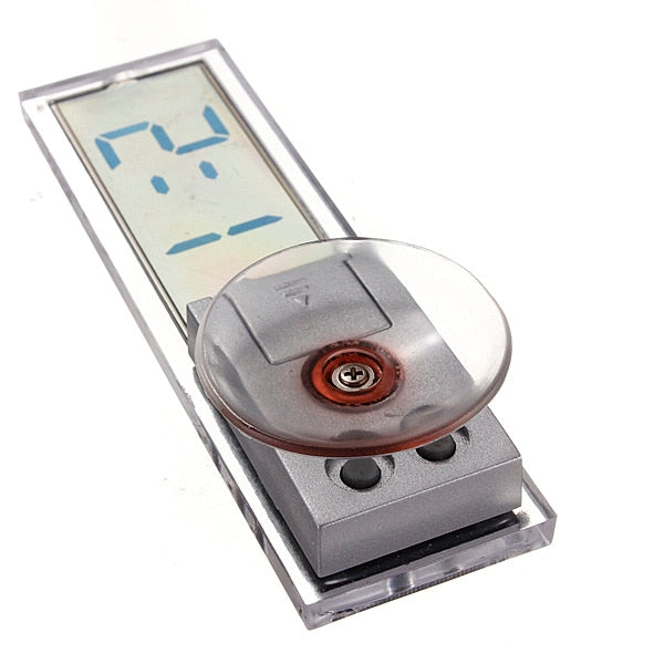 New Best Promotion Suction Cup Sticker Auto Car Dashboard Windscreen Digital LCD Display Mini Clock