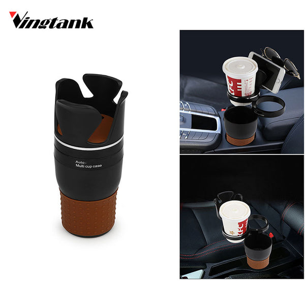 Vingtank Car Interior Multifunctional Portable Organizer Car Cup Holder Auto Vehicle Seat Cup Drink Cell Phone Holder Car Box
