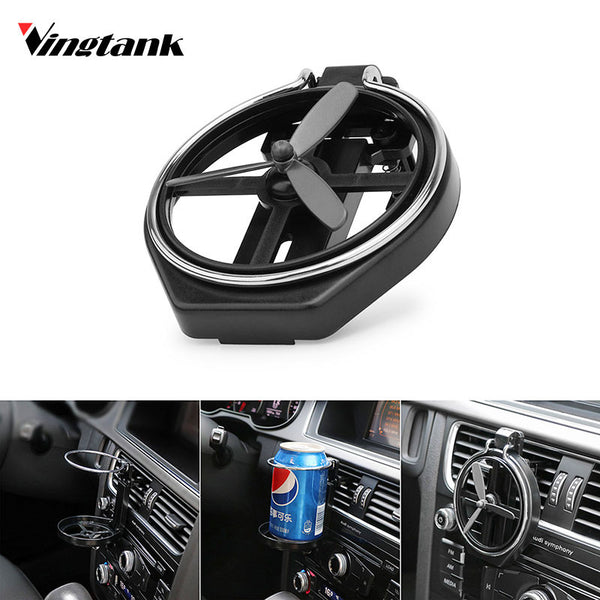 Vingtank 1PCS Folding Car cup holder car outlet drink holder multifunctional drink holder auto supplies Car cup car organizer