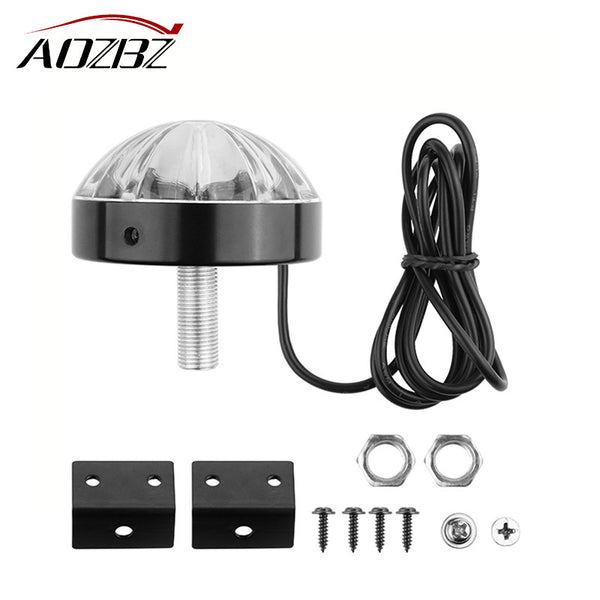 AOZBZ New Car Modification Decorative Warning Light LED Car Bottom Underpan Tail Light For Universal Motocycle Car Accessories