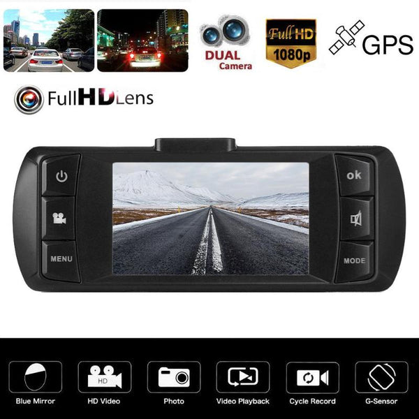 Auto 2.7 inch Full HD 1080P Car Dvr Camera Rearview Mirror Digital Video Recorder Registratory Camcorder Auto Dash Cam Car DVR