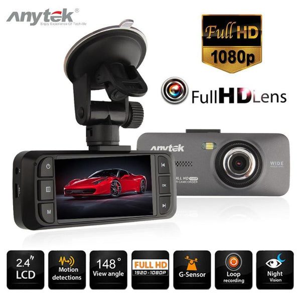 Anytek AT900 2.7 Inch 1080P FHD Car DVR Camera Video Recorder WDR Night Vision Dash Cam Latest WDR Wide Dynamic Car Camera New