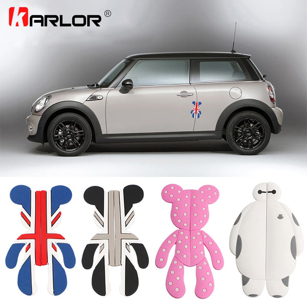 For Mini Cooper countryman clubman paceman R50 R53 R55 R56 R57 R58 R59 R60 R61 F55 F56 car door anti-collision bar strip sticker