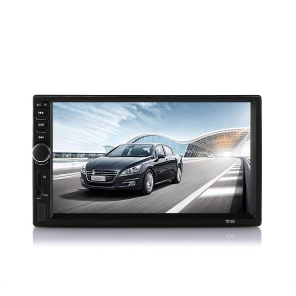 Bluetooth Car MP5 Car MP5 Player Without Camera Dual Core Reverse Monitor Stereo GPS Navigation USB/TF/AUX Car Audio