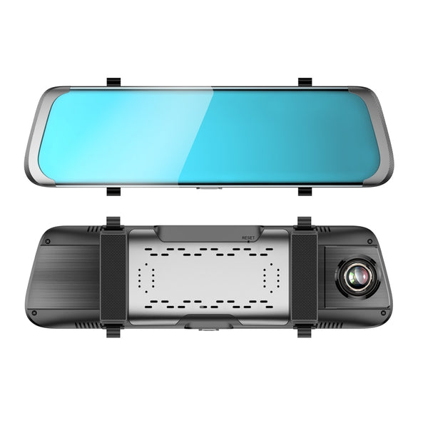 "Car DVR 10"" Inch IPS Touch-Screen4G Mirror DVR Android ADAS GPS FHD 1080P WIFI Auto View Mirror With Camera"