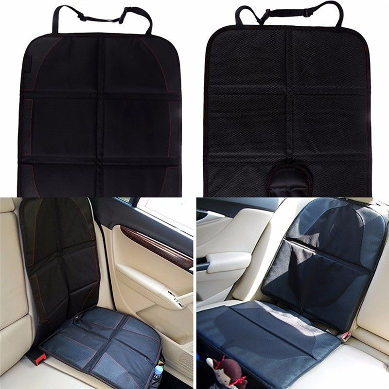 ME3L High Quality Easy Clean Cover Car Seat Car Seat Interial Protector Mat Car Baby Car Seat Covers Black for Four Seasons