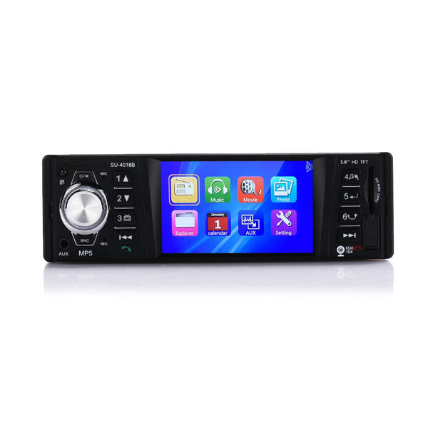 MP5 Player Car Video Player Premium 1 Din 4018B Car Kit Bluetooth Car MP5 Radio Music Player