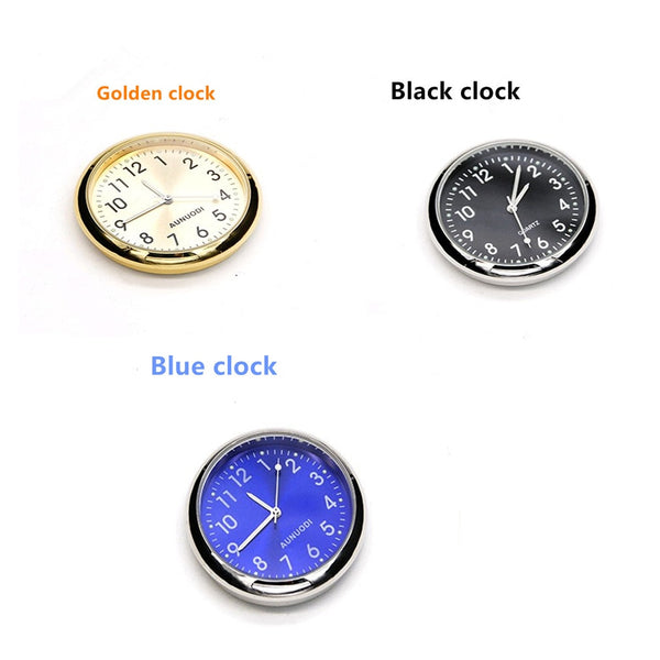 Car Watch Electronic Clock Quartz Clock Air Outlet Perfume Luminous Air Outlet Thermometer