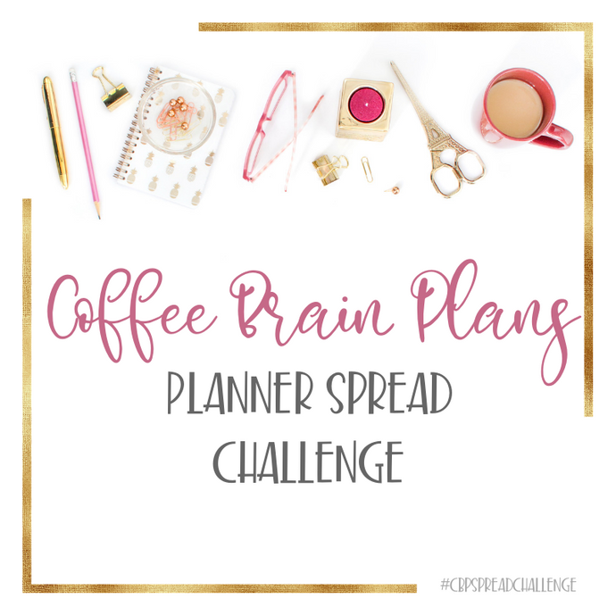 Introducing: Our Planner Spread Challenge!