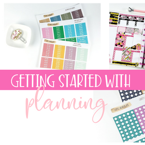 Getting Started with Planning