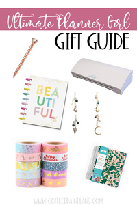 Ultimate Planner Gift Guide: The Planner Girl's Wish List