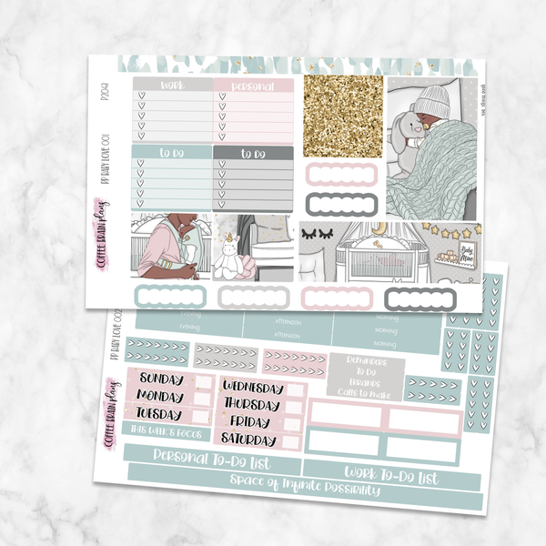 Baby Love Weekly Kit for Medium Passion Planner