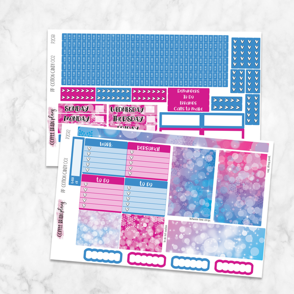 Cotton Candy Bokeh Weekly Kit for Medium Passion Planner