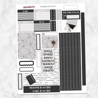 Minimalist Weekly Kit for Large Passion Planner