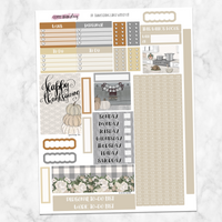 Thanksgiving Weekly Kit for Large Passion Planner