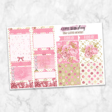 PRINTABLE: Pink Glitter Monthly Kit for Classic Happy Planner