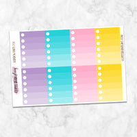Rainbow Party Weekly Kit for Classic Happy Planner