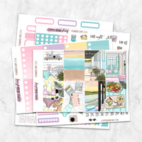 Summer Days Weekly Kit for Classic Happy Planner