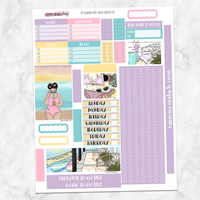 Summer Days Weekly Kit for Large Passion Planner