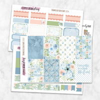Tranquil Blooms Weekly Kit for Classic Happy Planner