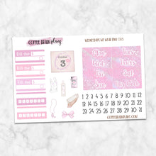 Wednesdays We Wear Pink Mean Girls Weekly Kit for Classic Happy Planner
