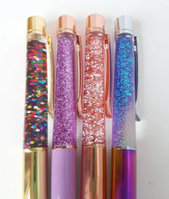 Luxury Glitter Oil Flow Ballpoint Pens Black Ink