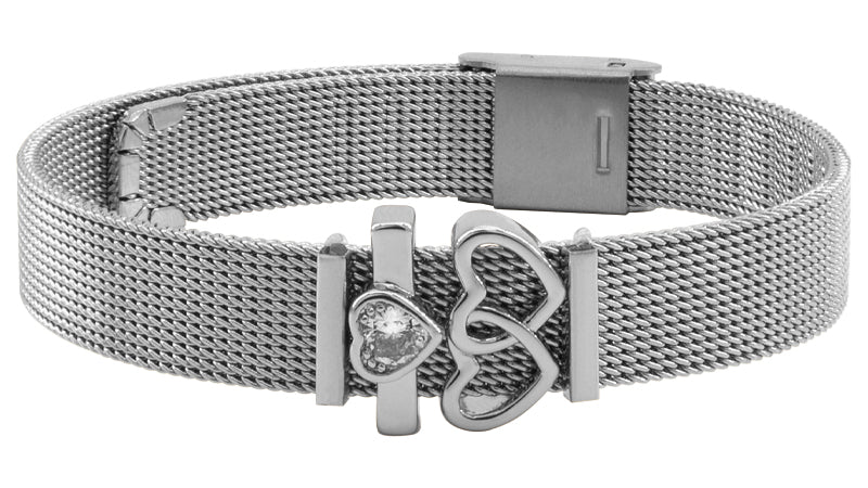 """Forever Yours"" Mesh Armband"