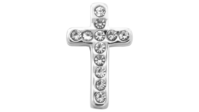 "*NEU* ""Diamond Cross"" Charm"