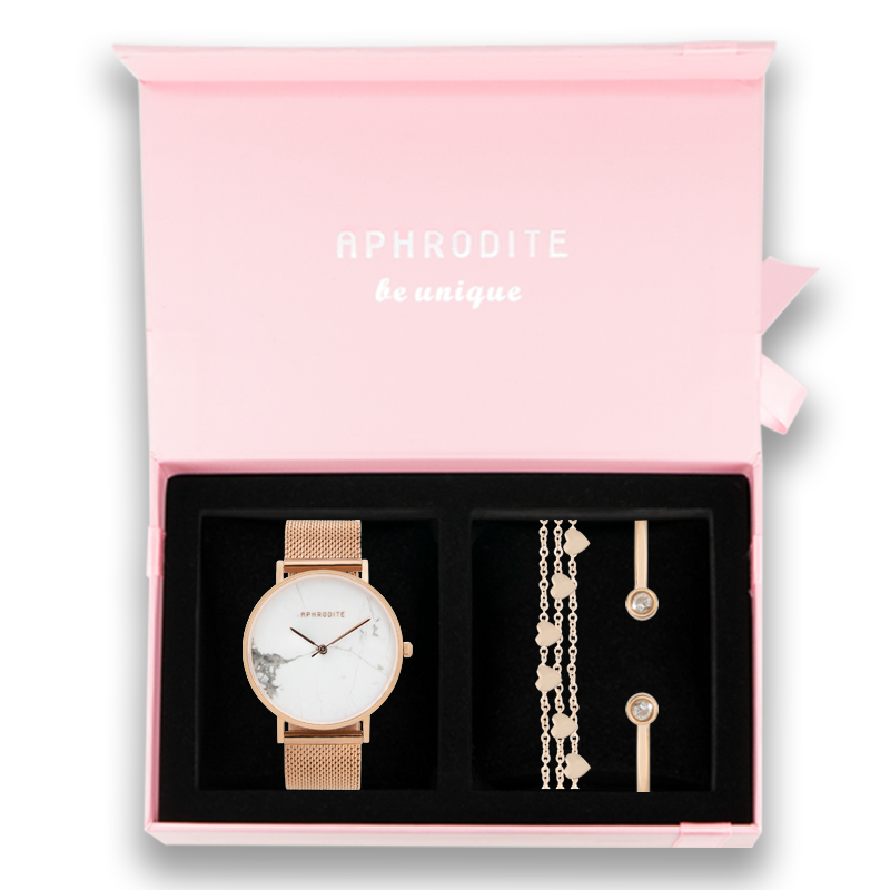 Be Unique & Sparkle - Geschenkbox - Rose Gold