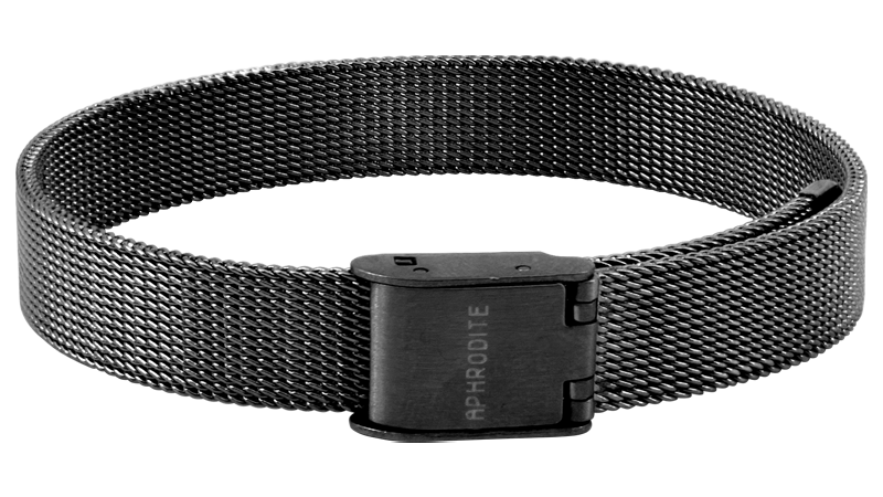 """Hugs and Kisses"" Mesh Armband"