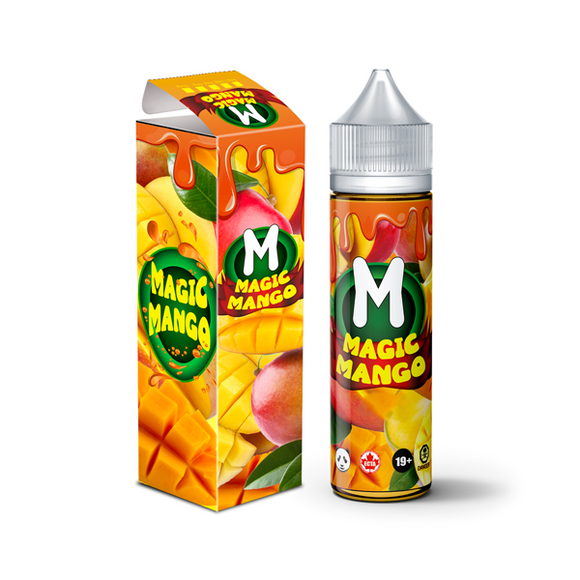 Magic Mango by Fat Panda 60ml Shortfill 0mg (75VG-25PG)