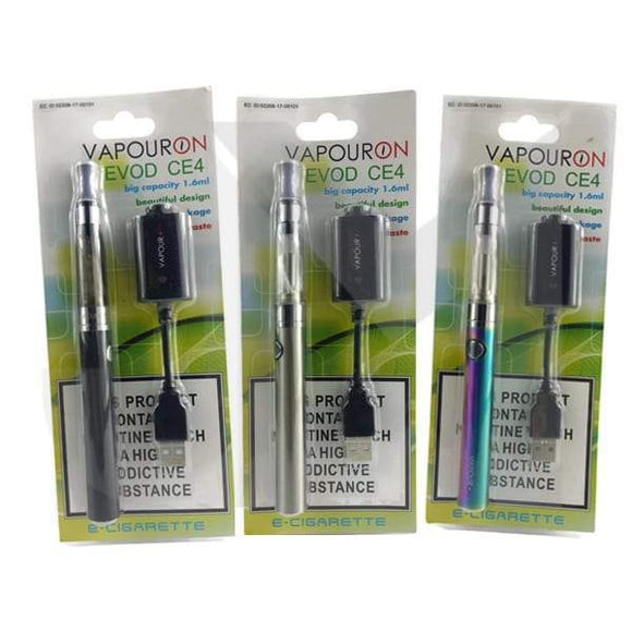 Vapouron EVOD CE4 Pen Kit - TPD - alba-vaping-uk