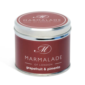 Grapefruit & Pimento Medium Tin Candle