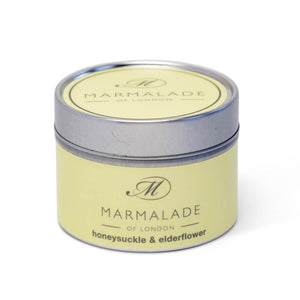Honeysuckle & Elderflower Small Tin Candle