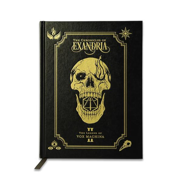 The Chronicles of Exandria Vol. II: The Legend of Vox Machina Art Book Deluxe Edition