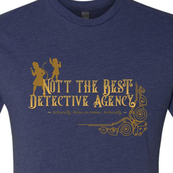 Critical Role Nott the Best Detective Agency T-shirt