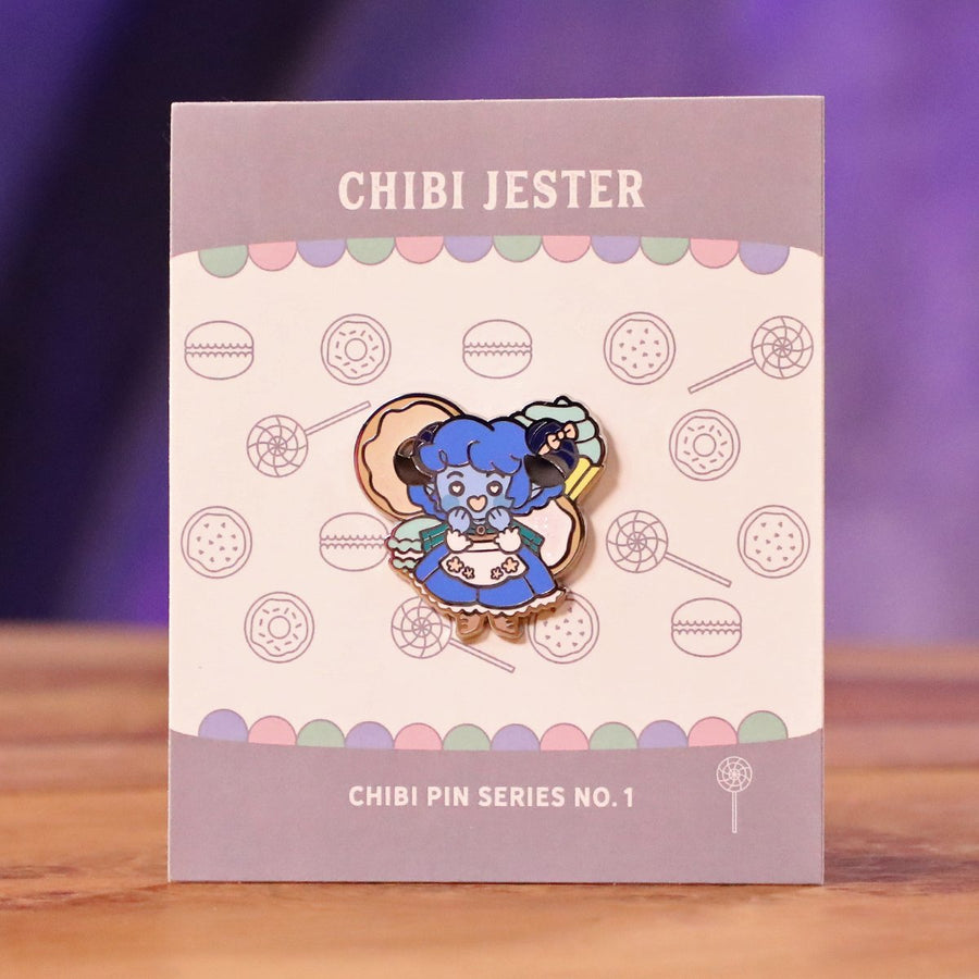 Critical Role Chibi Pin No. 1 - Jester (Live Show Variant)